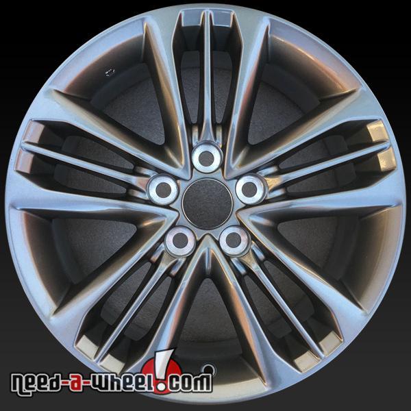 17 Toyota Camry Oem Wheels 2017 Silver Stock Rims 75171