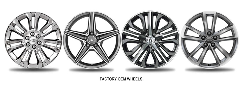 types of factory oem wheels