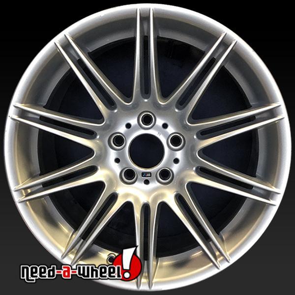 19x8 Bmw 3 Series Oem Wheels 2007 2013 Silver Rims 71238