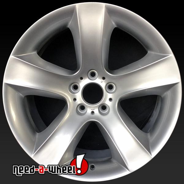 """Bmw X6 Wheels: 19x9"""" BMW X6 Oem Wheels 2008-2014 Silver Rims 71278"""