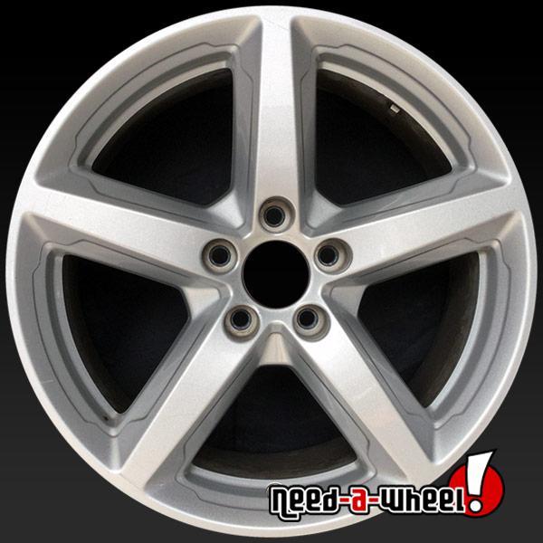 2016 2017 Ford Explorer Oem Wheels For 18 Silver Stock Rims 10059