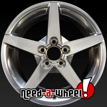 Chevy Corvette oem wheels rims 5208