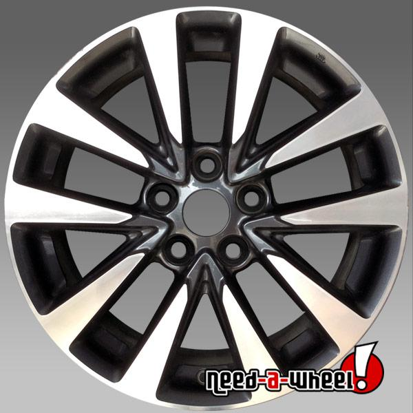 17x7 5 nissan altima oem wheel 2016 2017 machined factory. Black Bedroom Furniture Sets. Home Design Ideas