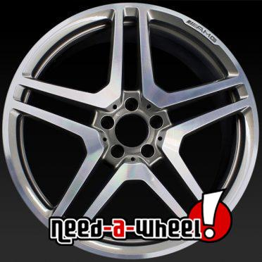 Mercedes CL63 oem wheels rims 85052