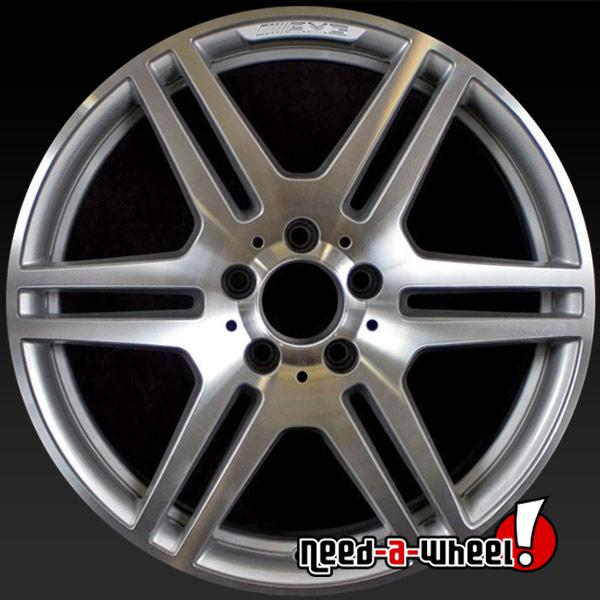 Mercedes Rims For Sale >> 2010 2013 Mercedes E350 Oem Wheels For Sale Rear 18 Amg Machined Stock Rims 85126