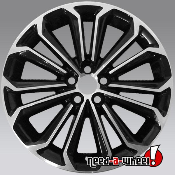 17x7 Toyota Corolla Oem Wheels 2014 2016 Machined Rims 75152