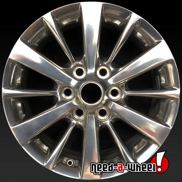 "2019 Cadillac Xts: 18x8"" Cadillac XTS LIMO OEM Wheel 2013-2019 Polished"