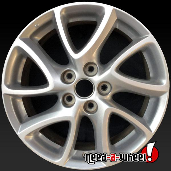 Mazda 3 Wheels >> 2012 2013 Mazda 3 Oem Wheels For Sale 17 Silver Stock Rims 64947