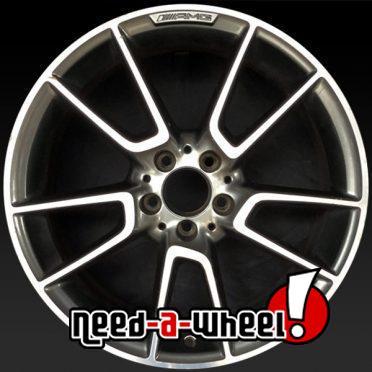 Mercedes C43 oem wheels rims 85448