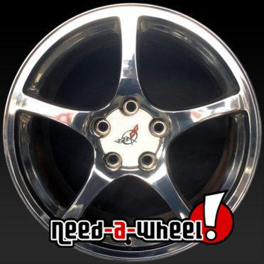 Chevy Corvette oem wheels rims 5163