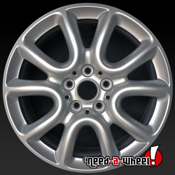 "17x7"" Mini Cooper Mini Oem Wheels 2016-2017 Hypersilver"