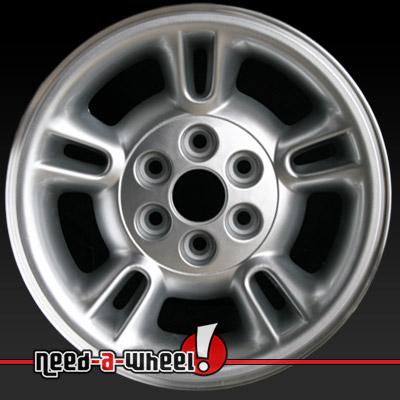 1997 2000 dodge dakota wheels for sale silver rims 2082. Black Bedroom Furniture Sets. Home Design Ideas