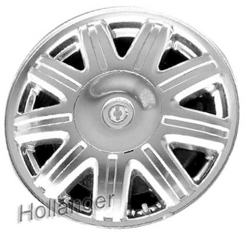 2004 2007 chrysler town and country wheels machined silver 16 rims 2211. Black Bedroom Furniture Sets. Home Design Ideas