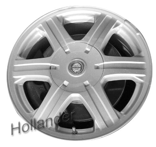 "Chrysler Pacifica Rims For Sale: 2004-2008 Chrysler Pacifica Wheels Silver. 17"" Rims 2217"