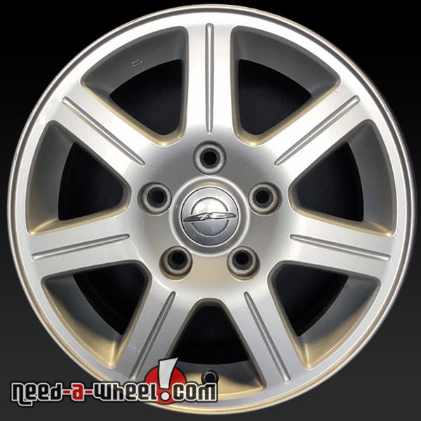 """Chrysler Town and Country oem wheels 16x6.5"""" stock rims 2330"""