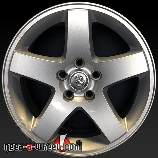 2006 2010 dodge challenger wheels for sale 17 silver rims 2358. Black Bedroom Furniture Sets. Home Design Ideas