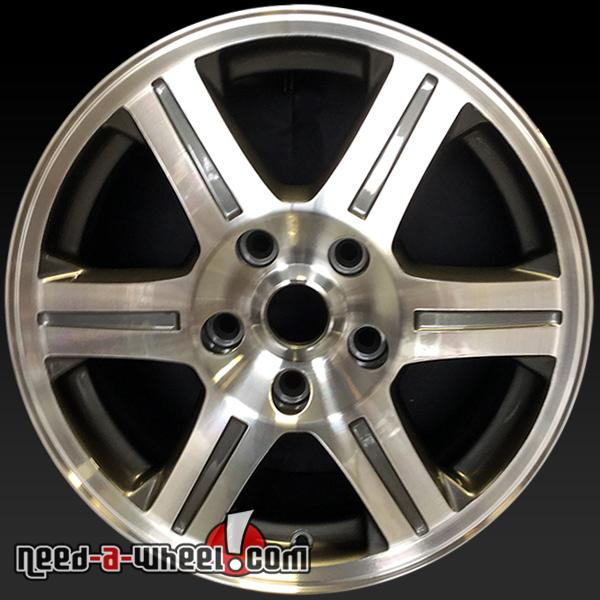 "Chrysler Pacifica Rims For Sale: 17"" Chrysler Pacifica Wheels Oem 2007-2008 Machined Rims 2376"