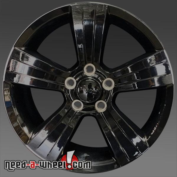 17x6 5 jeep patriot wheels oem 2011 2015 black rims 2380. Black Bedroom Furniture Sets. Home Design Ideas