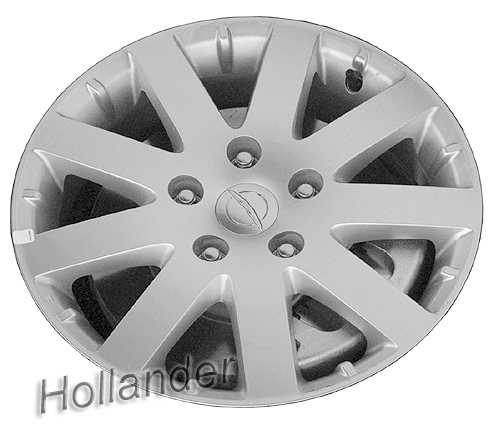 2012-2014 Chrysler Town And Country Wheels Chrome. 17