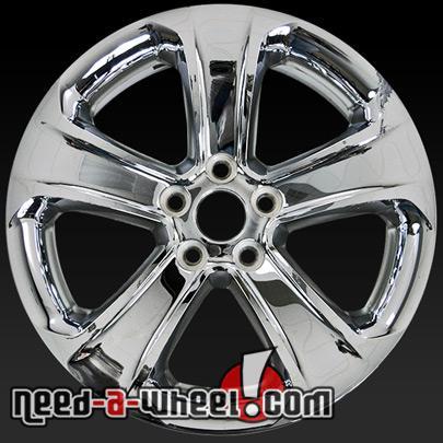 18 dodge charger wheels oem 2011 14 chrome rims 2407. Black Bedroom Furniture Sets. Home Design Ideas