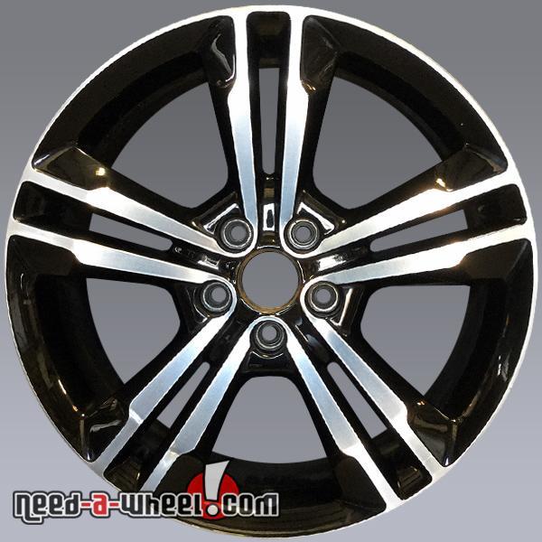 19 dodge charger oem wheels 2011 14 black machined stock rims 2410. Black Bedroom Furniture Sets. Home Design Ideas