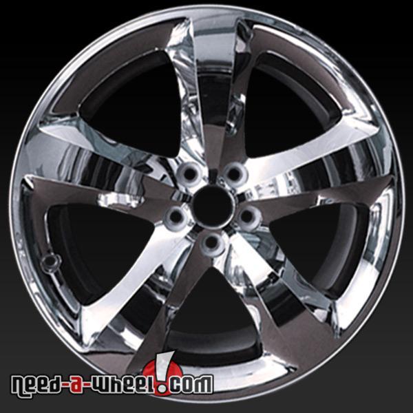 20 dodge challenger wheels for sale 12 13 chrome rims 2424. Black Bedroom Furniture Sets. Home Design Ideas