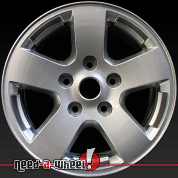 2009 2010 dodge ram wheels for sale silver rims 2430. Black Bedroom Furniture Sets. Home Design Ideas