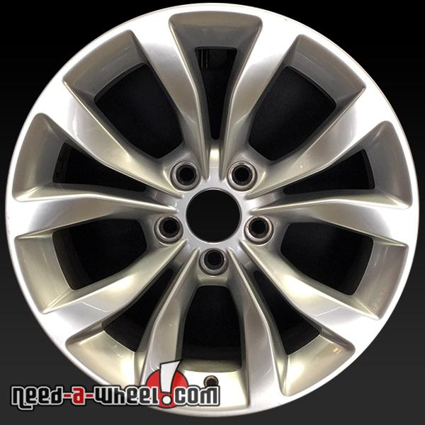 "17x7"" Chrysler 300 Wheels Oem 2015 Silver Stock Rims 2535"