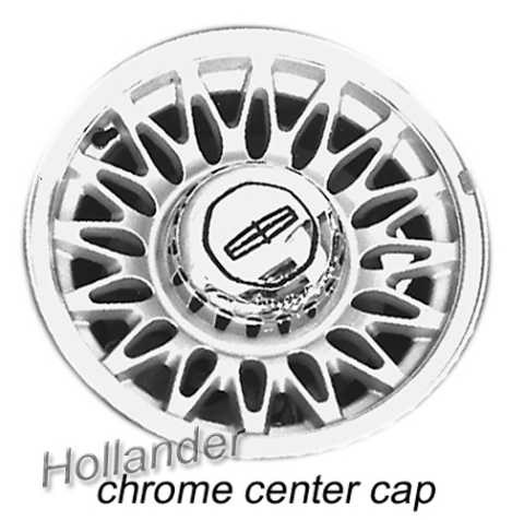 1993 1997 Lincoln Town Car Wheels For Sale Silver Rims 3053