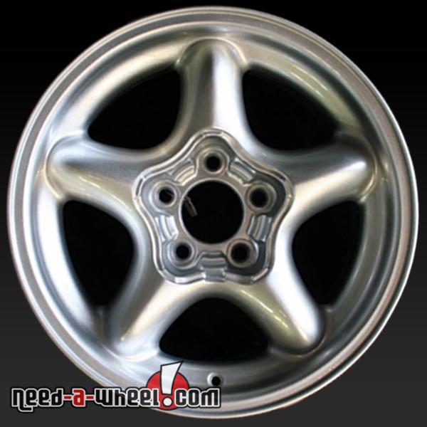 16 ford mustang wheels oem 1994 1998 silver rims 3088. Black Bedroom Furniture Sets. Home Design Ideas