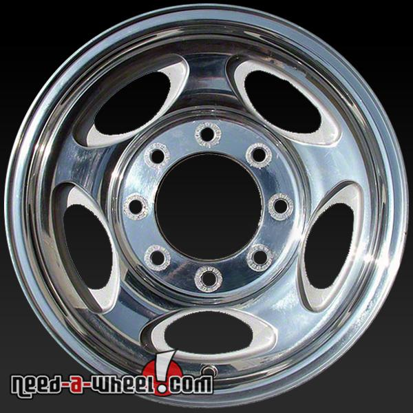 Ford F250 Wheels >> 2000 2004 Ford F250 F350 Pickup Wheels For Sale 16 Polished Stock Rims 3408