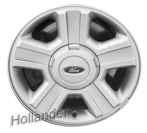 Ford F150 Wheels >> 2004 2008 Ford F150 Wheels Chrome 17 Oem Rims 3554