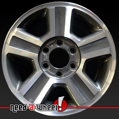 2004 2008 Ford F150 Wheels Machined Charcoal Rims 3554