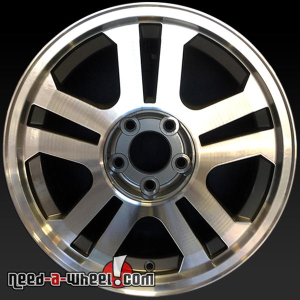 17 ford mustang wheels oem 2005 machined stock rims 3590. Black Bedroom Furniture Sets. Home Design Ideas
