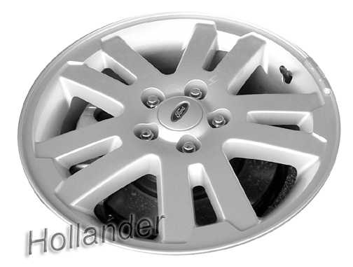 2006 2010 ford explorer wheels chrome 17 rims 3639. Black Bedroom Furniture Sets. Home Design Ideas