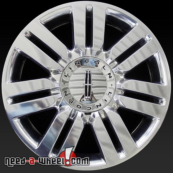 """2006 Lincoln Town Car For Sale: 20"""" Lincoln Wheels Oem 2006-2010 Polished To Like New"""