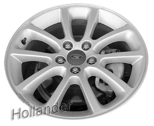 Ford Edge Wheels Charcoal  E  B Oem Rims