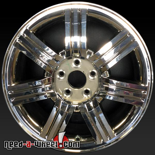 Ford Taurus wheels oem rim 3695 Chrome