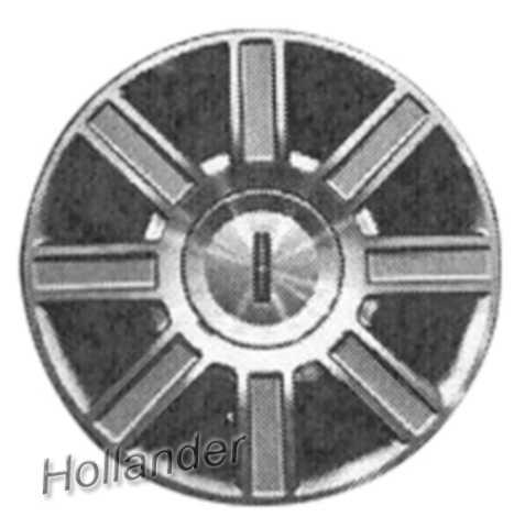 2006 2011 Lincoln Town Car Wheels Machined Silver 17 Rims 3754