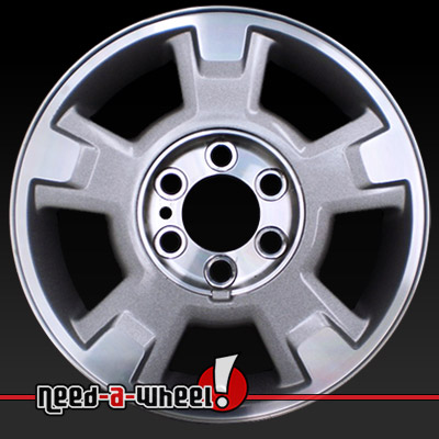 Ford F150 Bolt Pattern >> 2009 2013 Ford F150 Wheels Machined Silver Stock Rims 3781
