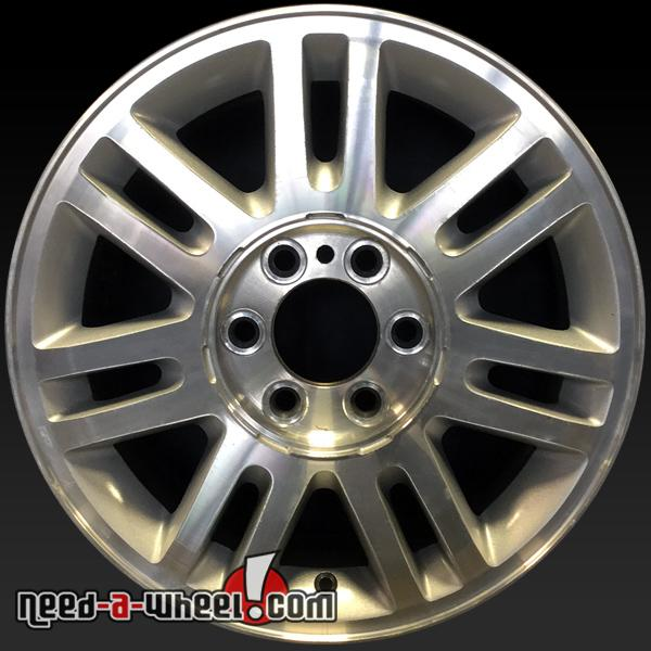 18 Ford F150 Oem Wheels 2009 2014 Machined Factory Stock Rims 3784