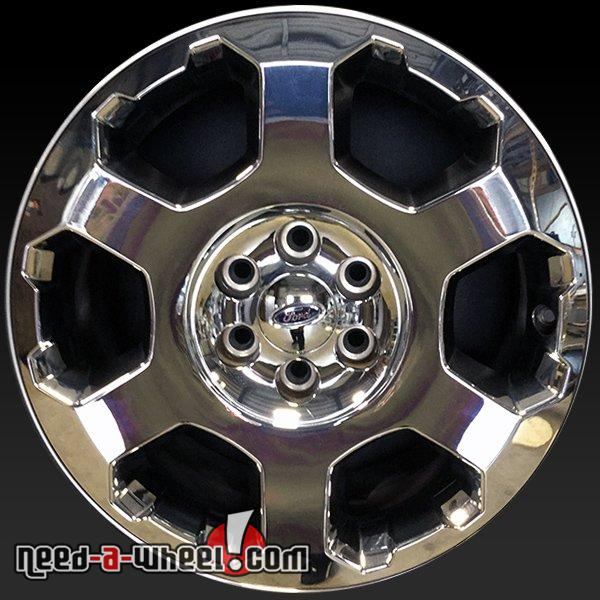 Ford F150 Factory Rims For Sale >> 2009 2012 Ford F150 Wheels For Sale 20 Chrome Stock Rims 3786