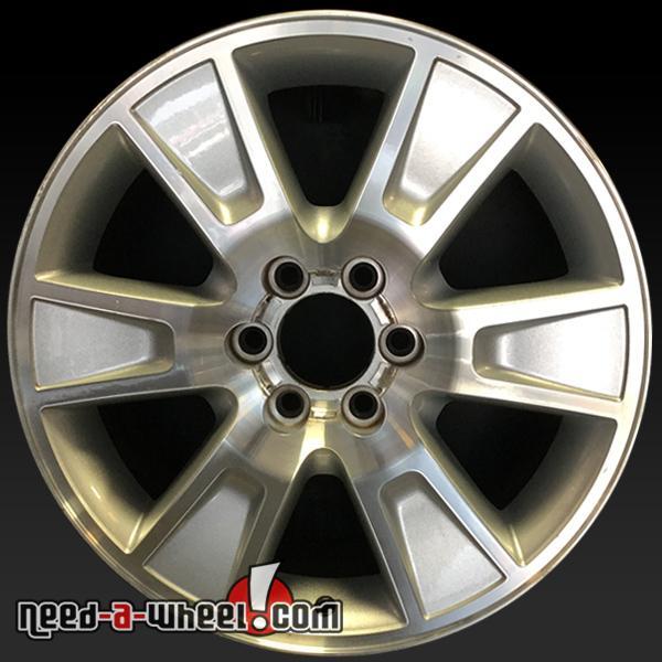 Ford F150 Wheels >> 20 Ford F150 Wheels Oem 2009 2013 Machined Stock Rims 3787