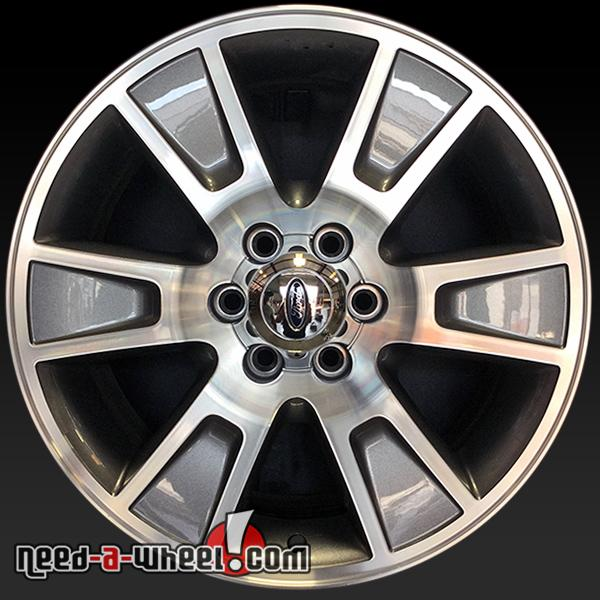 "Ford F150 Factory Rims For Sale >> 20"" Ford F150 wheels oem 2014-2015 Machined rims 3787"