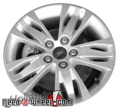2012 Ford Focus wheels Silver. 16