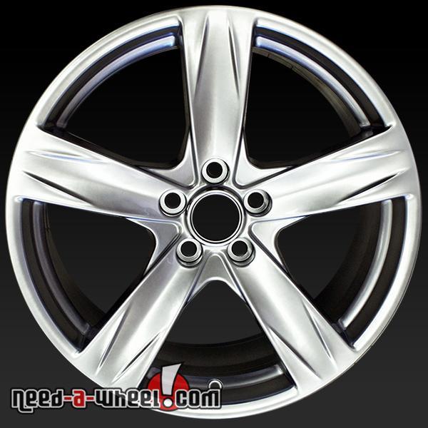 19 ford mustang wheels oem 2013 14 hyper silver rims 3910. Black Bedroom Furniture Sets. Home Design Ideas
