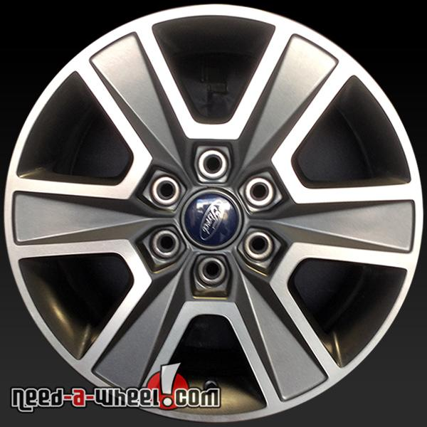 Ford F150 Oem Wheels >> 18 Ford F150 Wheels Oem 2015 Machined Charcoal Stock Rims 3997