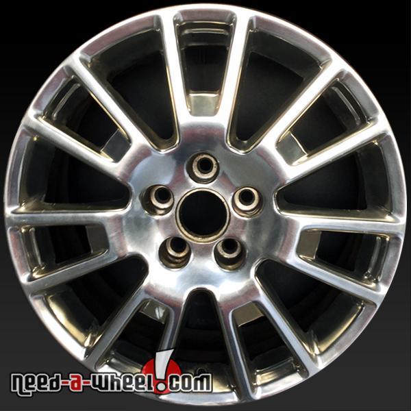 "18"" Cadillac STS Wheels Oem 2008-2011 HDD Polished Rims 4631"