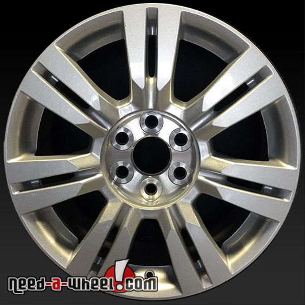 """18"""" Cadillac SRX Wheels Oem 2010-2016 Silver Painted Stock"""