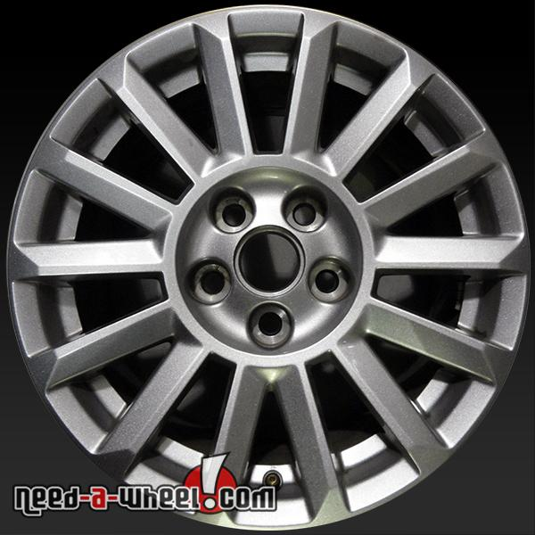 "2010 Cadillac Cts For Sale: 17x8"" Cadillac CTS Wheels Oem 2010-2013 Silver Alloy Stock Rims 4668"